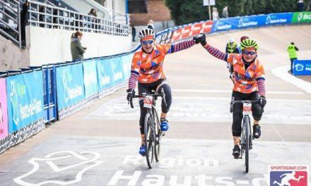 Tony Westbury Completes Paris Roubaix
