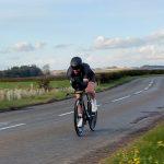 Congratulations to Arran Gannicott on setting a new 25 mile TT record