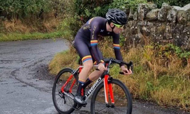 Joe Agnew wins Edinburgh Road Club Hill Climb